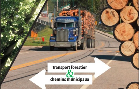 Transport forestier sur chemins municipaux